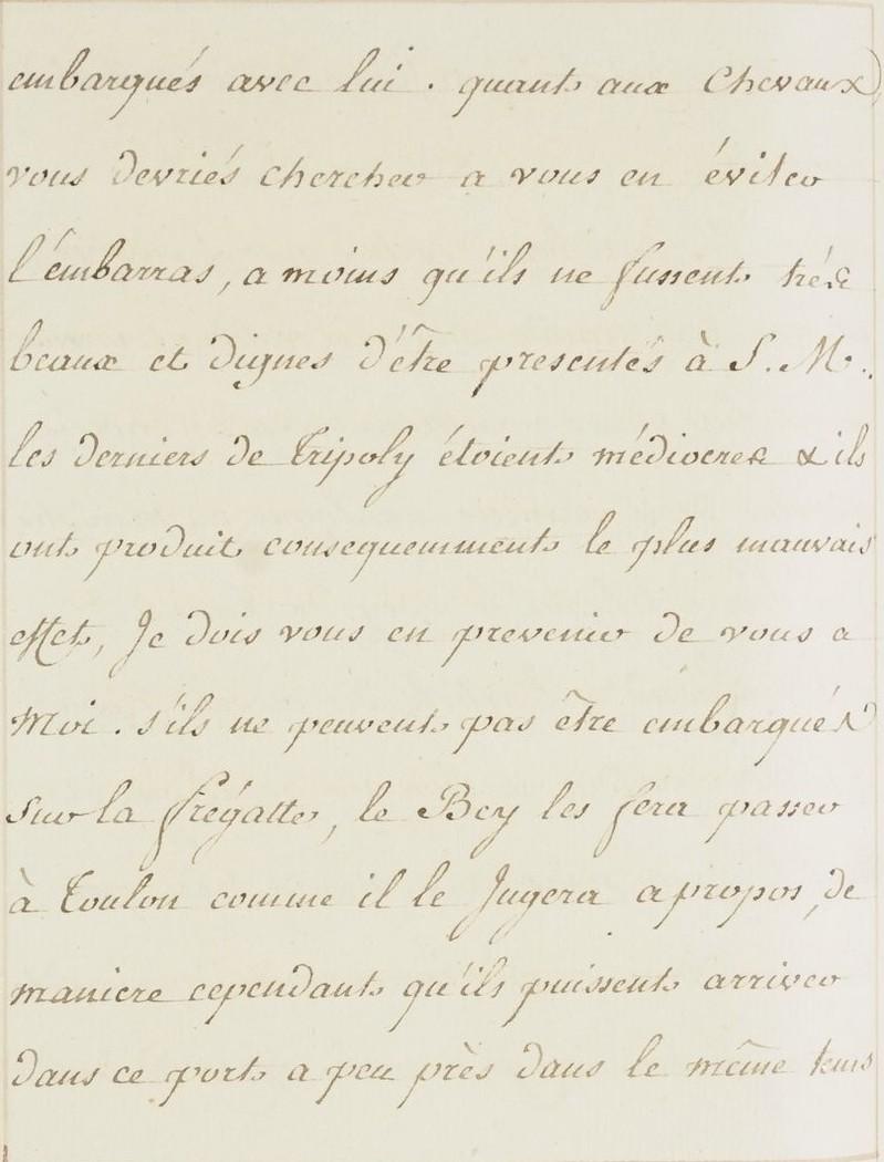 L'ambassade du Bey de Tunis à Versailles (1777) O_jour24
