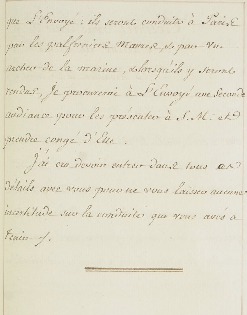 L'ambassade du Bey de Tunis à Versailles (1777) O_jour25