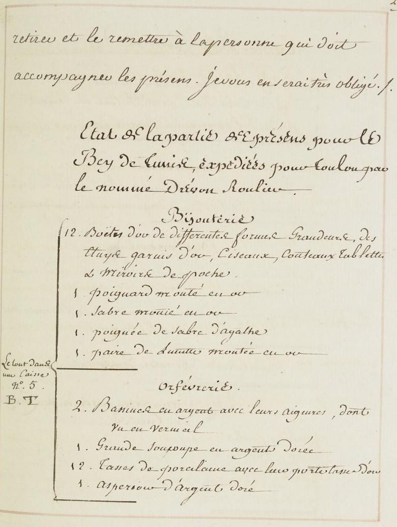 L'ambassade du Bey de Tunis à Versailles (1777) O_jour26