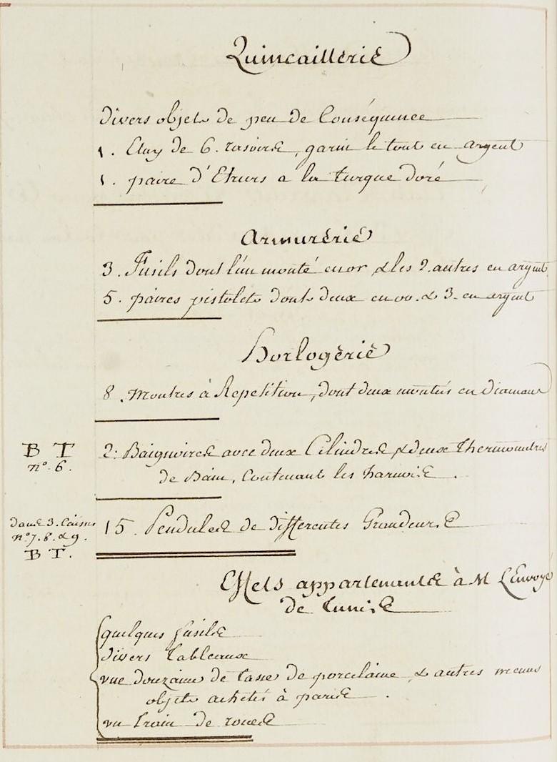 L'ambassade du Bey de Tunis à Versailles (1777) O_jour28