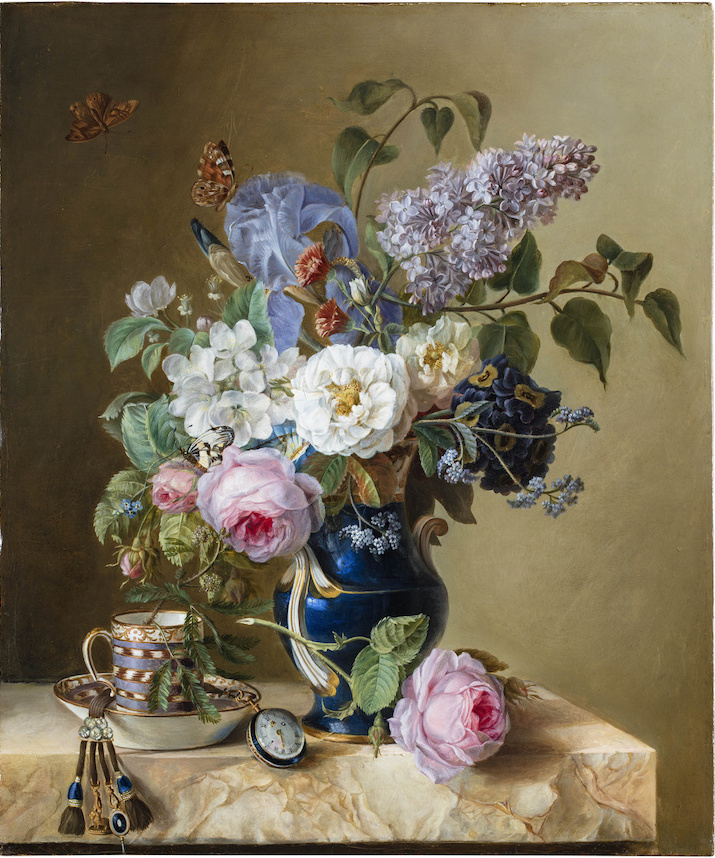 La peinture des fleurs : Sophie de Fuligny-Damas, marquise de Grollier Ob_08b11
