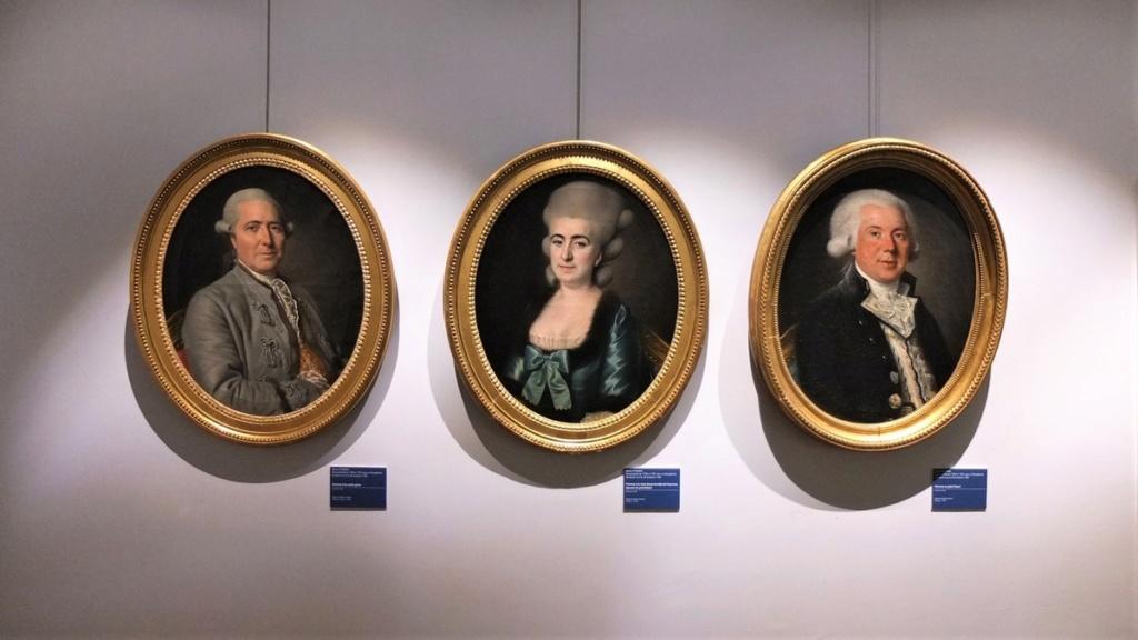 Cent portraits pour un siècle. Exposition au Musée Lambinet (Versailles) et Palais Lascaris (Nice) Ob_a8610