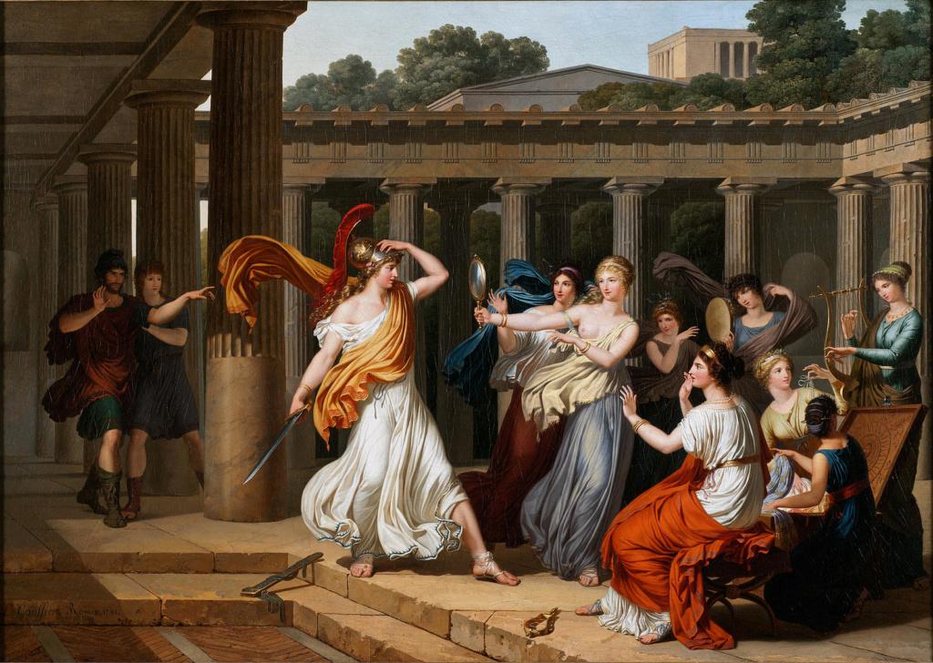 Louis Gauffier (1762-1801), peintre français installé en Italie Odysse10