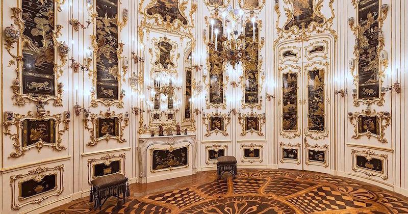 Schönbrunn, Habsbourg et Chinoiseries ... Oval_c10