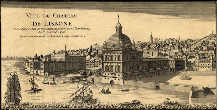 Le tremblement de terre de Lisbonne, 1755. Pacoda10