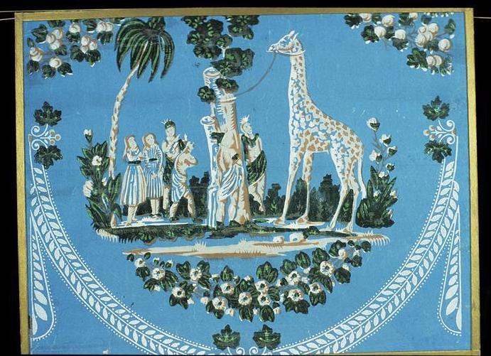 ZARAFA - La girafe de Charles X, dite Zarafa Papier10