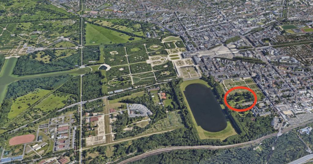 Le parc et le pavillon du comte de Provence et de la comtesse de Balbi à Versailles, aujourd'hui Parc Balbi Parc_b10