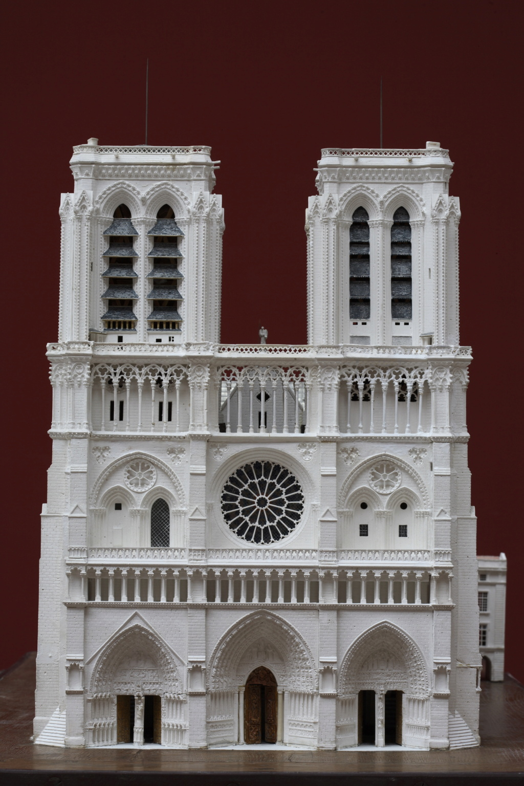Maquettes historiques de la cathédrale Notre-Dame de Paris Paris_11