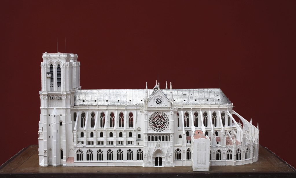 Maquettes historiques de la cathédrale Notre-Dame de Paris Paris_12