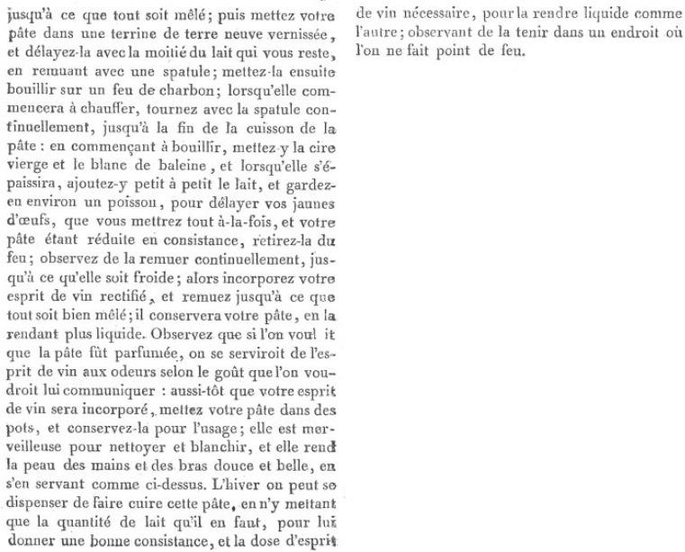 Les soins et produits de beauté de Marie-Antoinette : Jean-Louis Fargeon (parfumeur) et Pierre-Joseph Buc'hoz (médecin botaniste) Pate-r11
