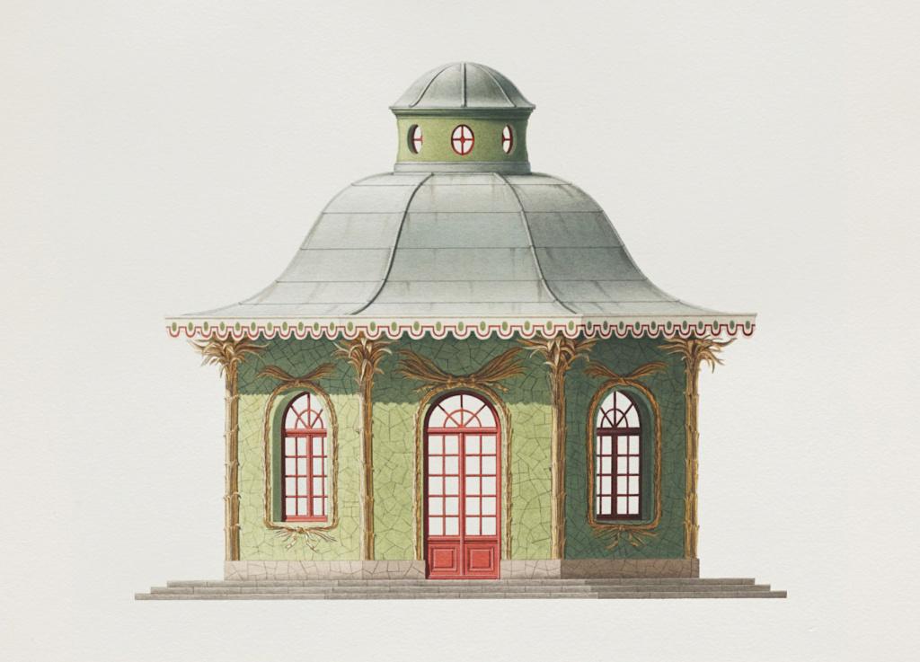 Les jardins du Petit Trianon - Page 6 Pavill10