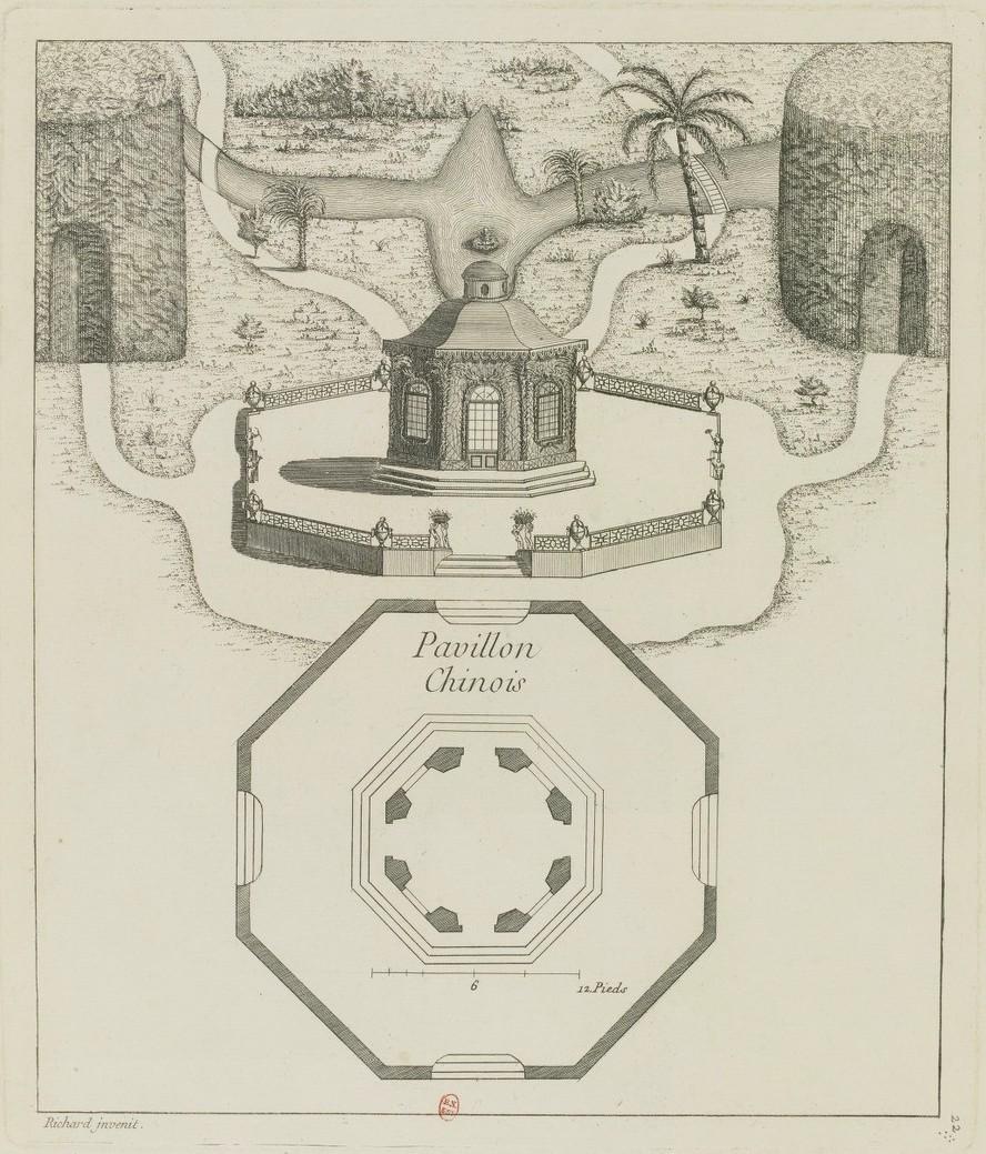 Les jardins du Petit Trianon - Page 6 Pavill11