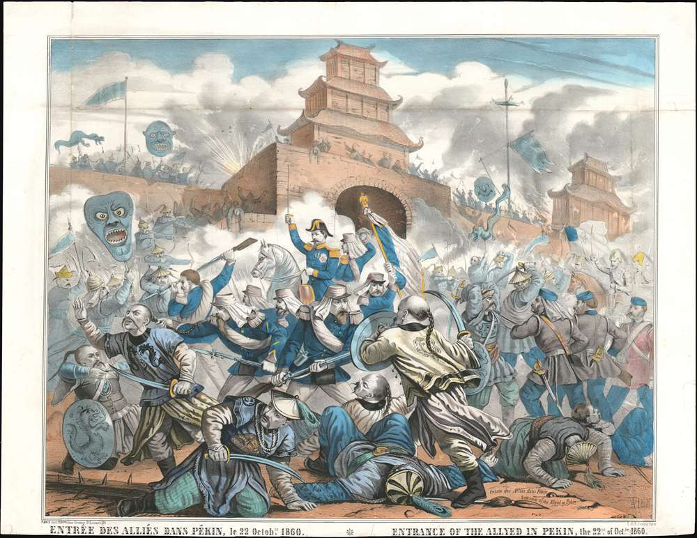La destruction et le sac du Palais d'été de Pékin (1860) Peking10