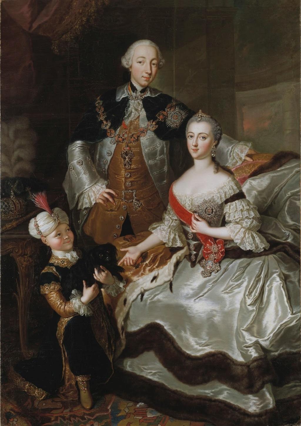 La princesse Daschkoff (Dachkov), dame d'honneur de Catherine II Peter_11