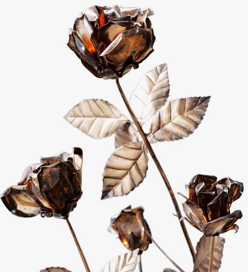 Les Roses d'or ou Roses bénites. L'exemplaire offert par le pape Clément XIV à la reine Marie-Caroline de Naples Pf214112
