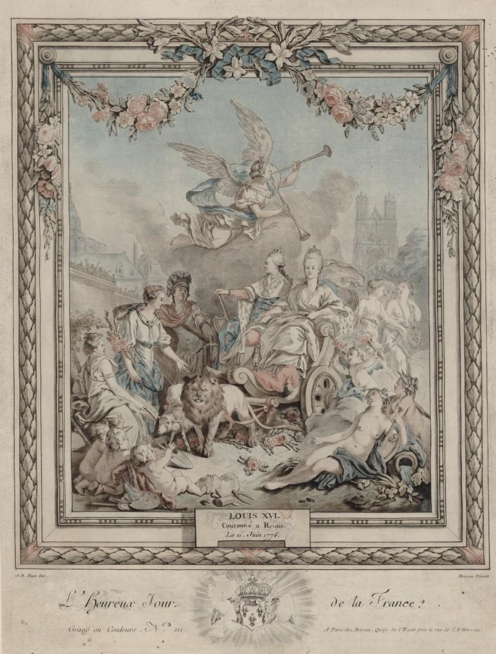 Le couronnement et le sacre de Louis XVI Pieace10