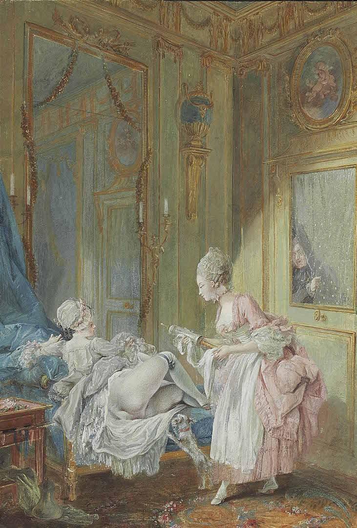 Pierre-Antoine Baudouin, dessinateur du libertinage au XVIIIe siècle Pierre11