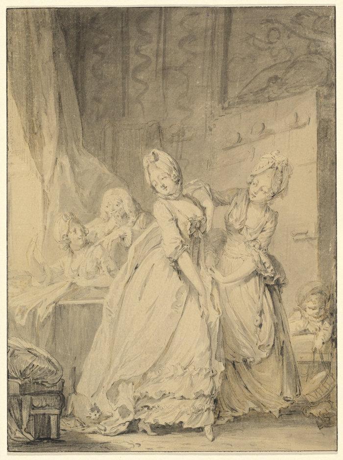 Pierre-Antoine Baudouin, dessinateur du libertinage au XVIIIe siècle Pierre12