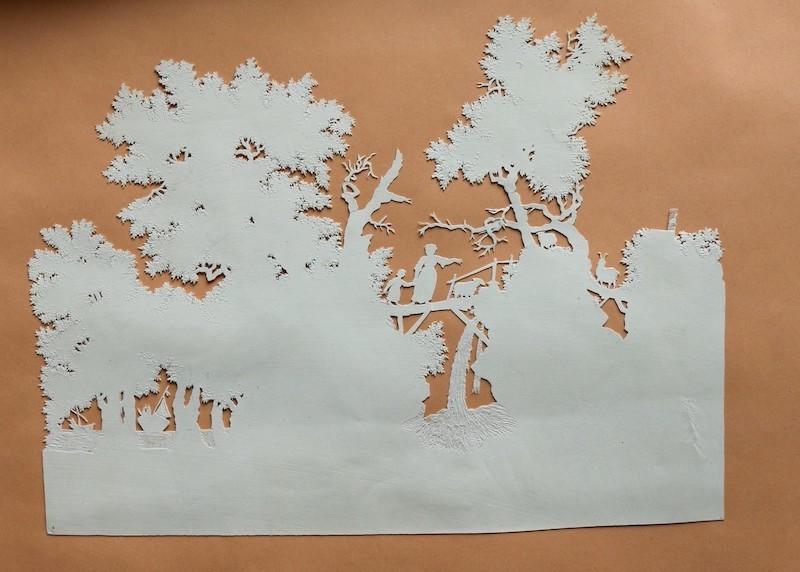 L'art des découpures : figures en papier découpées Piguet10