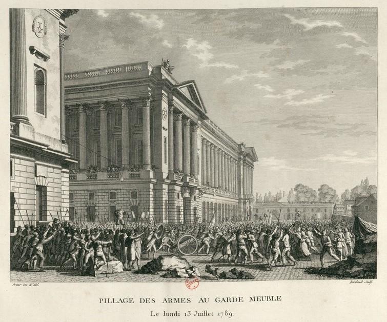 Le Garde-Meuble de la Couronne, actuel Hôtel de la Marine - Page 6 Pillag10