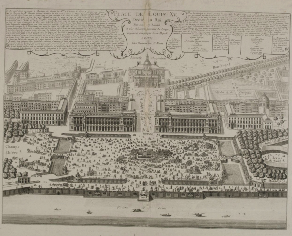 La place Louis XV, puis place de la Révolution, puis place de la Concorde au XVIIIe siècle - Page 2 Place_11