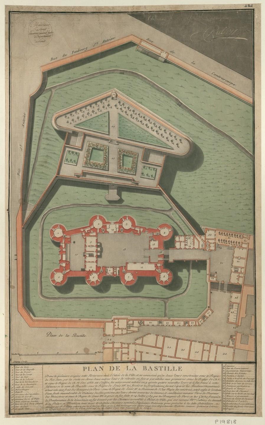 14 juillet 1789 : la  prise de la Bastille - Page 3 Plan_d12