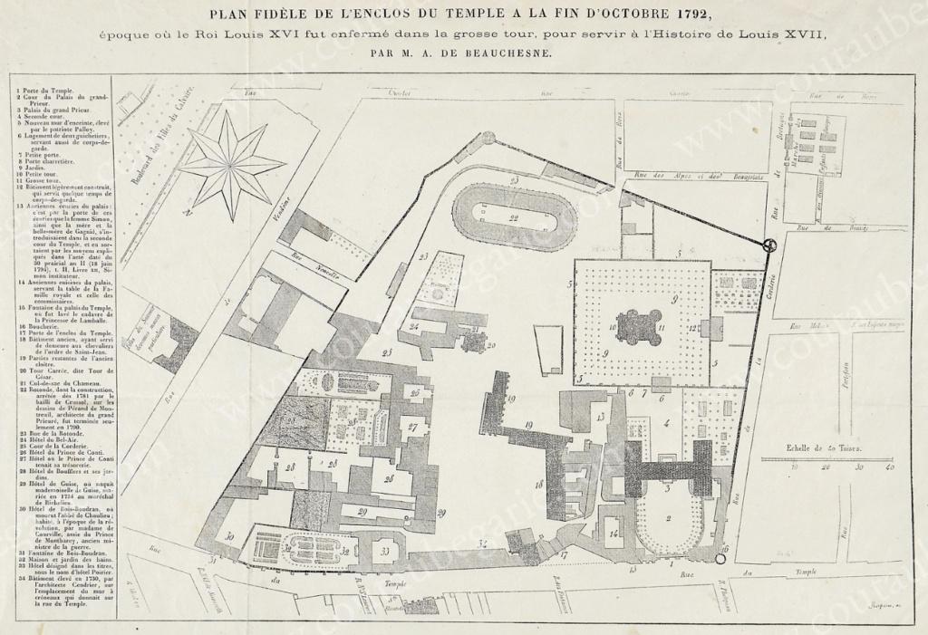 L'enclos du Temple au XVIIIe siècle - Page 3 Plan_e10
