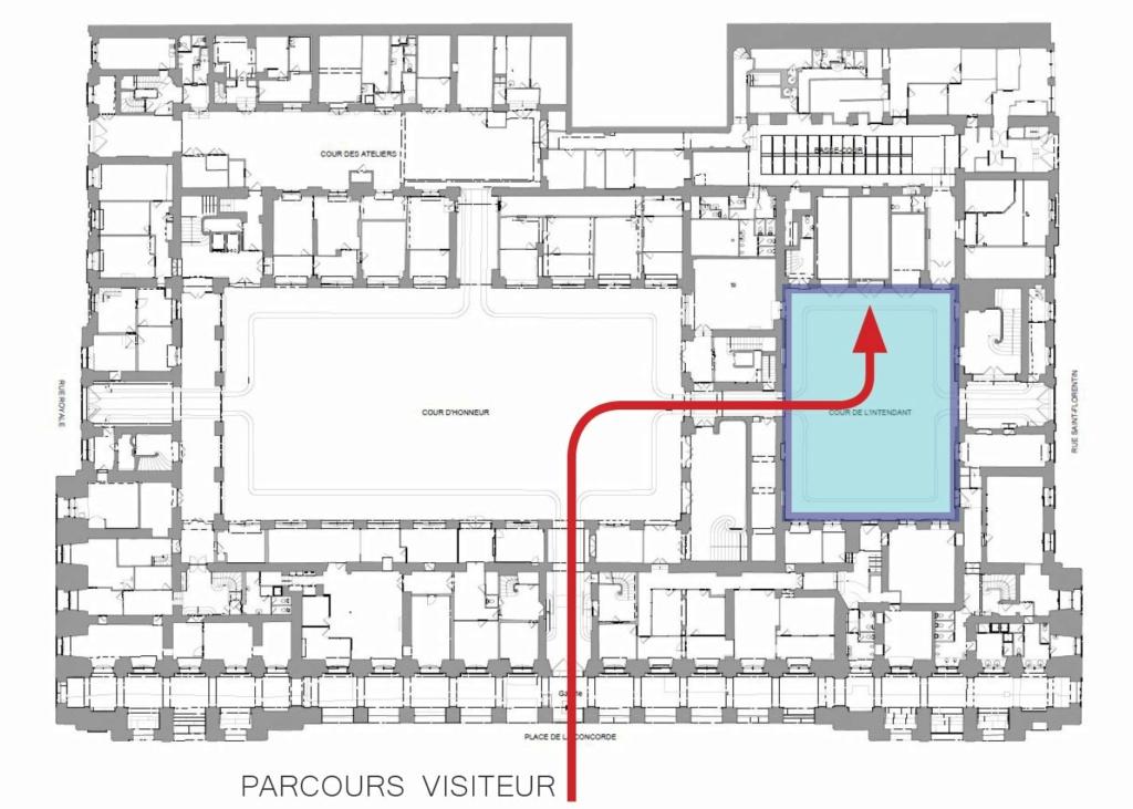 Le Garde Meuble Royal, actuel Hôtel de la Marine, à Paris - Page 3 Plan_h10