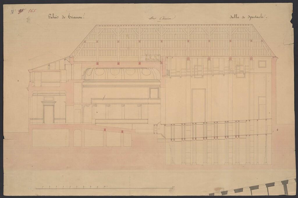 Le Théâtre de la reine (Trianon) : de la Révolution à la fin du XIXe siècle Plan_t10