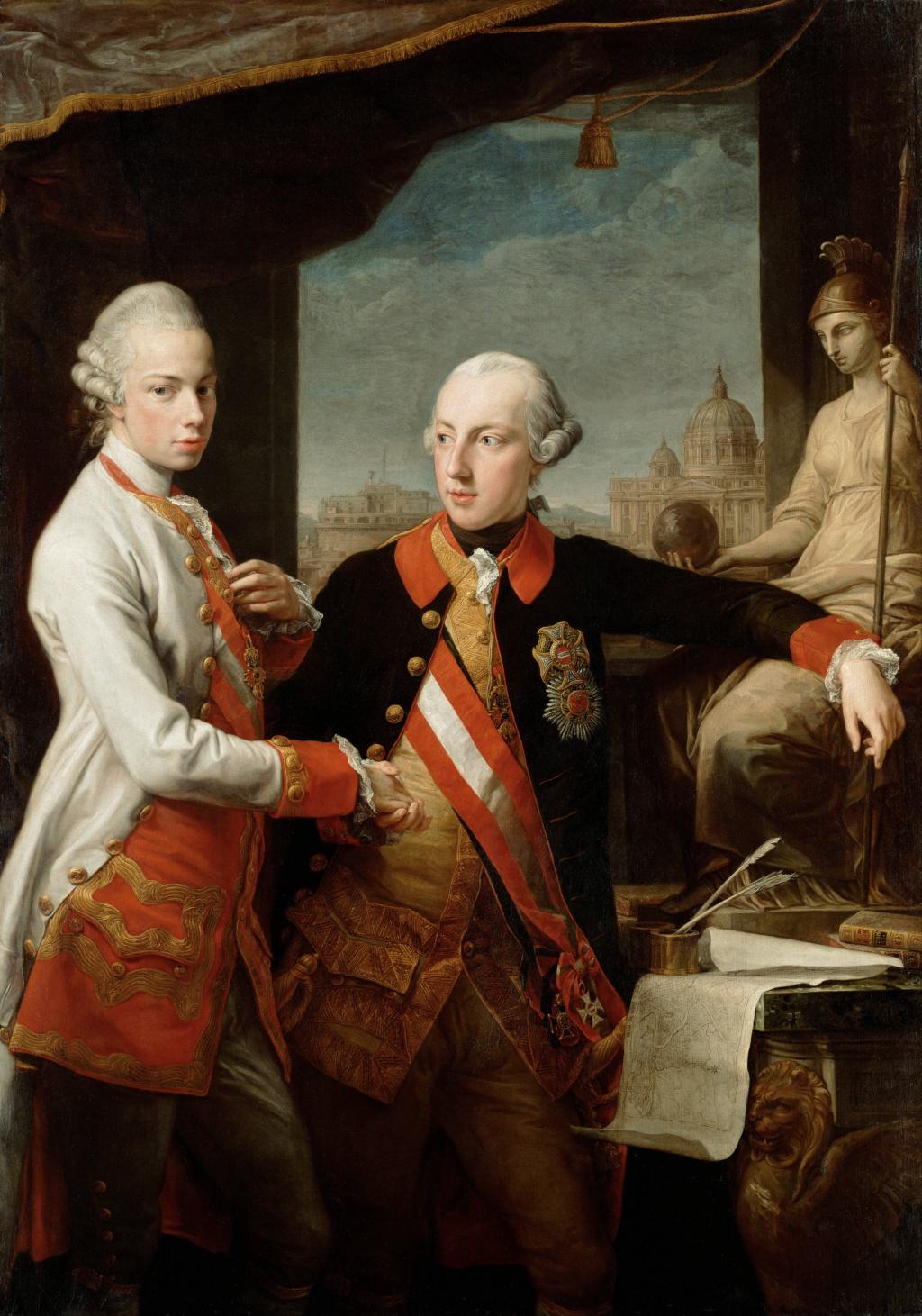 Léopold II, grand-duc de Toscane puis empereur d'Allemagne Pompeo12