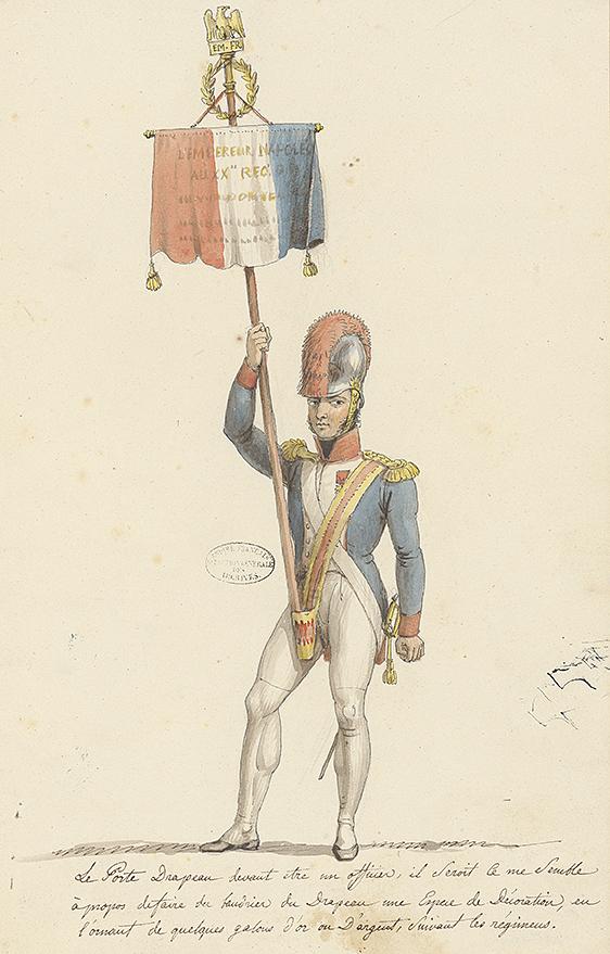 2021, année Napoléon. Bicentenaire de la mort de l'empereur Napoléon Ier.  - Page 2 Porte-10