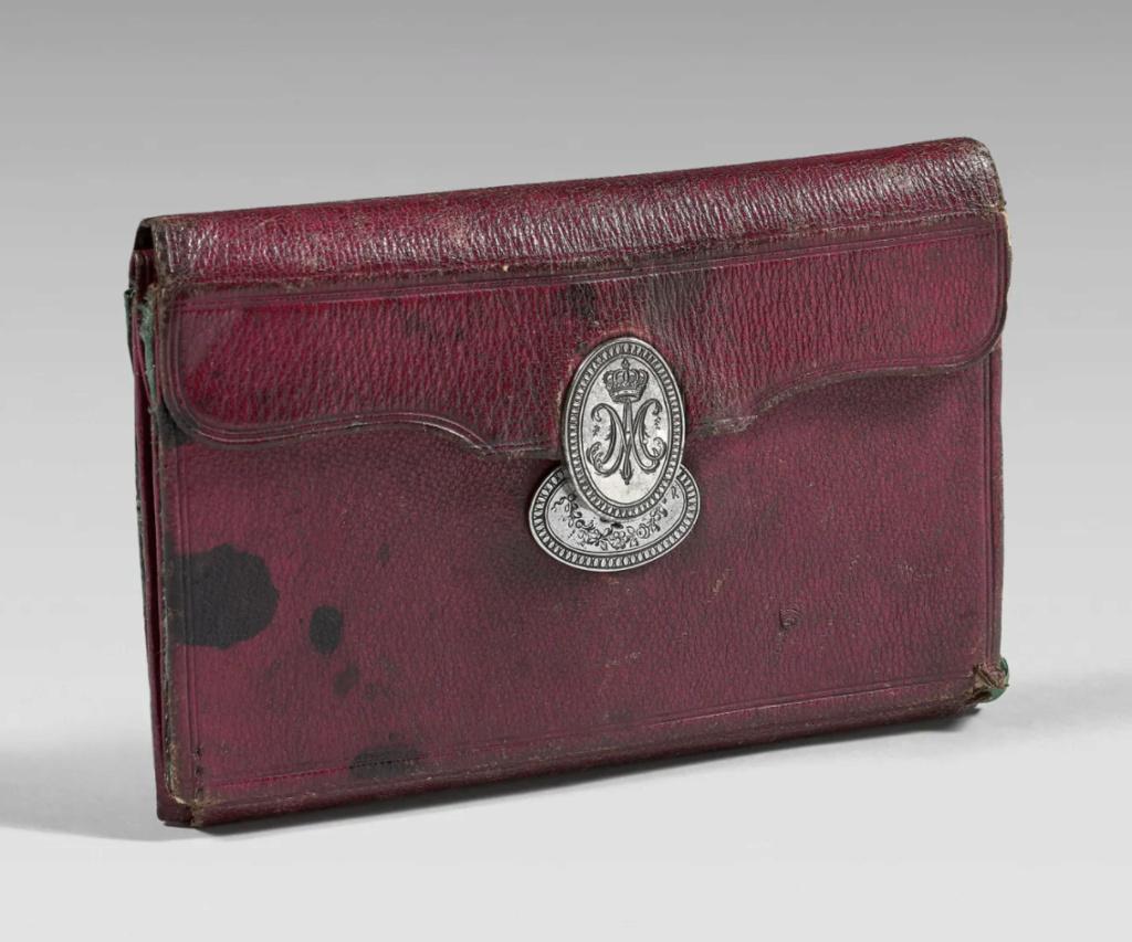 Portefeuilles aux armes de Marie-Antoinette, dauphine. Portef11