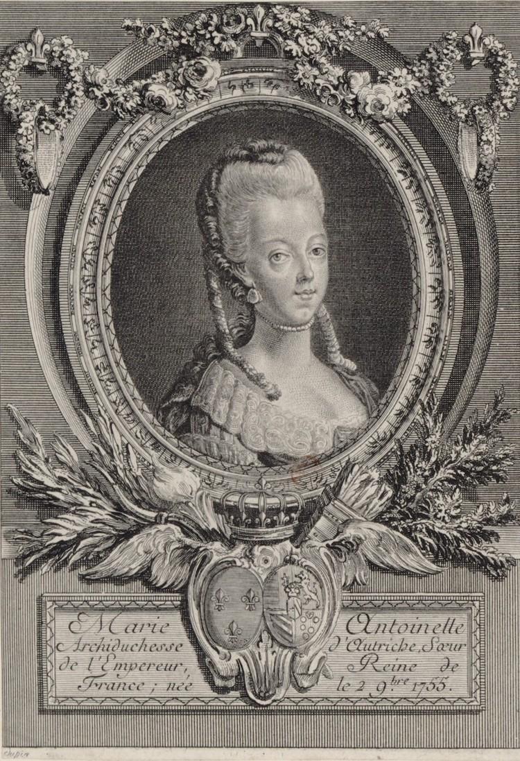 Portraits de Marie-Antoinette : les gravures, estampes, mezzotintes, aquatintes etc.  - Page 3 Portra35
