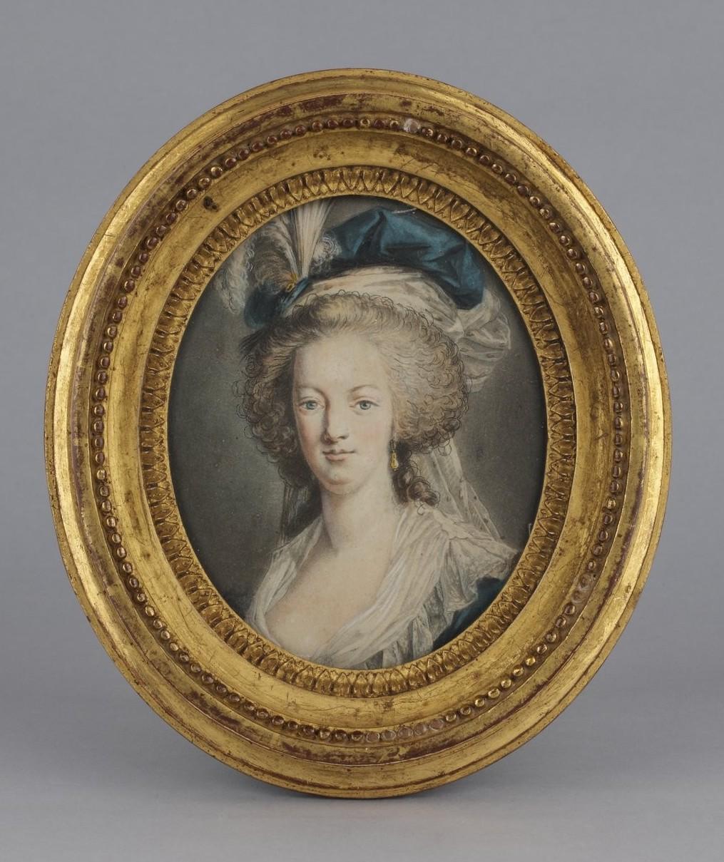 Portraits de Marie-Antoinette au livre, en robe bleue, par Vigée Le Brun (1785 - 1788 ?) - Page 2 Portra49
