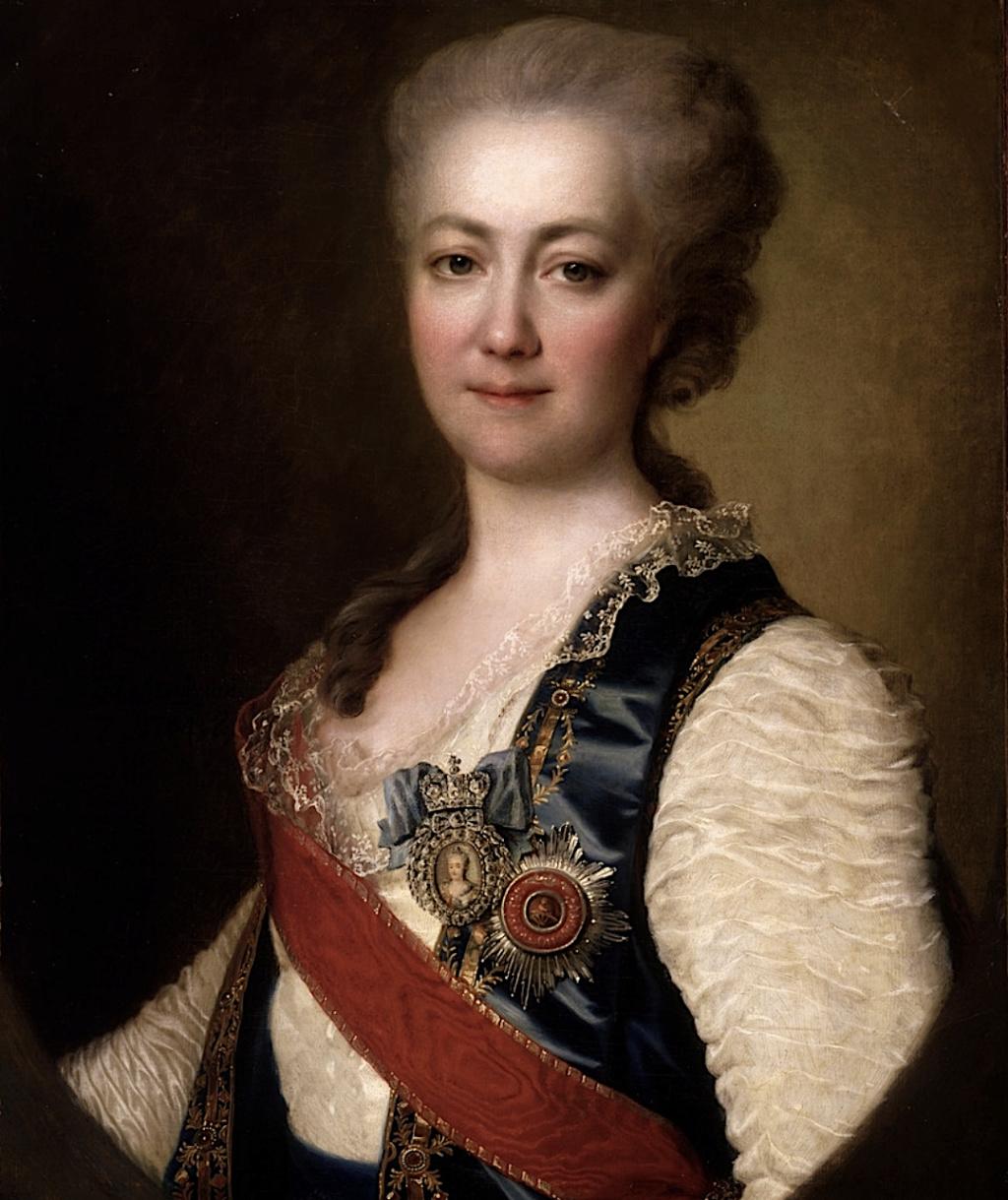 La princesse Daschkoff (Dachkov), dame d'honneur de Catherine II Prince12