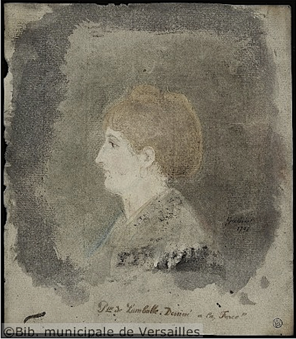Portrait(s) de la princesse de Lamballe à la prison de la Force, par Gabriel Prince15
