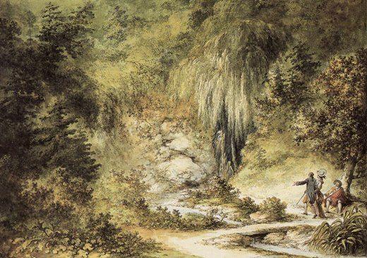 grotte - La grotte du Hameau de Marie-Antoinette Pt_gro10