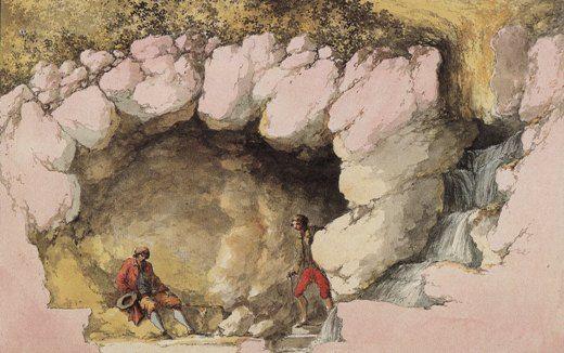 La grotte du Hameau de Marie-Antoinette Pt_gro11