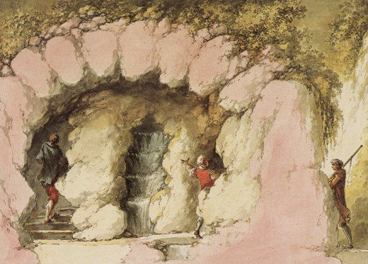 La grotte du Hameau de Marie-Antoinette Pt_gro12