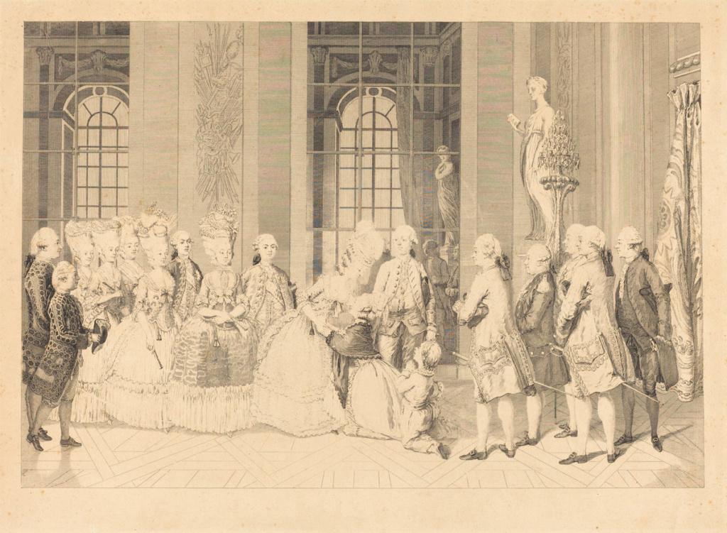 Marie-Antoinette par Charles-Henri des Fossés (Desfossés) ou Desfossez R-201011