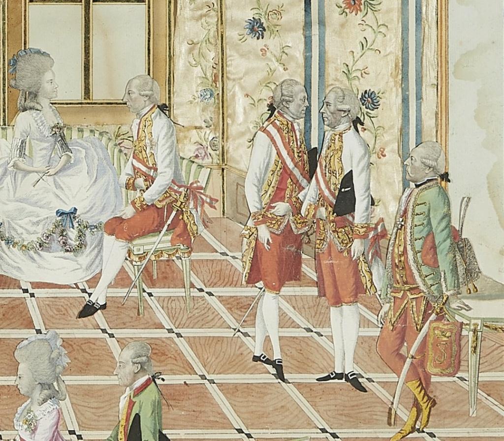 Le voyage en Europe du comte et de la comtesse du Nord : le tsarévitch Paul et son épouse. - Page 2 R10
