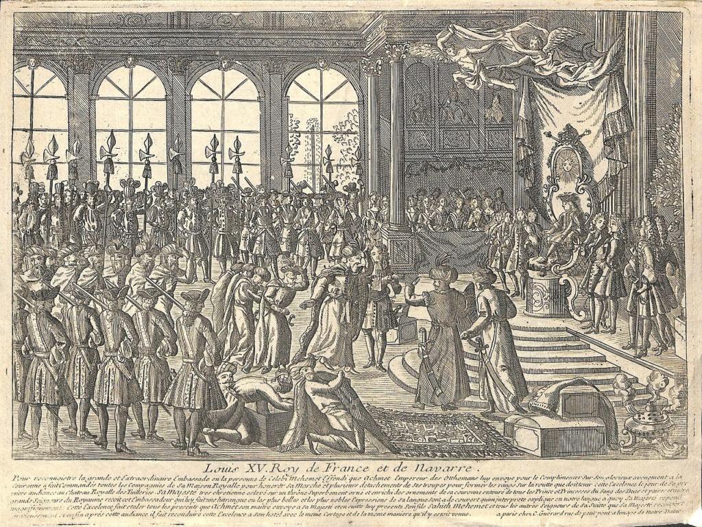 Yirmisekiz-Mehmed Çelebi Efendi - Ambassadeur de la Sublime Porte en visite en France de 1720 à 1721 Reacep10