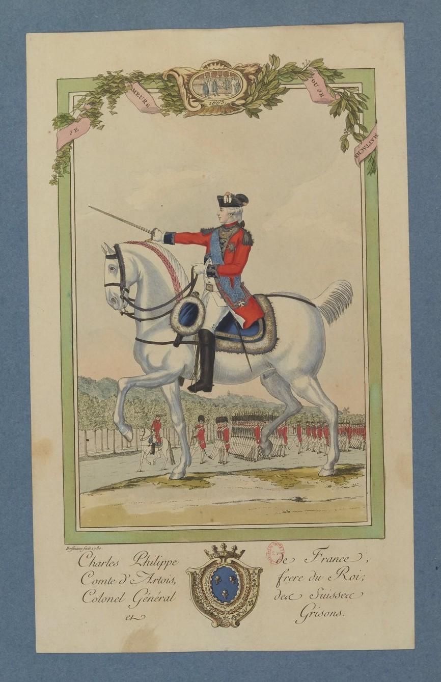 Le comte Charles-Philippe d'Artois, futur Charles X - Page 5 Reauni12
