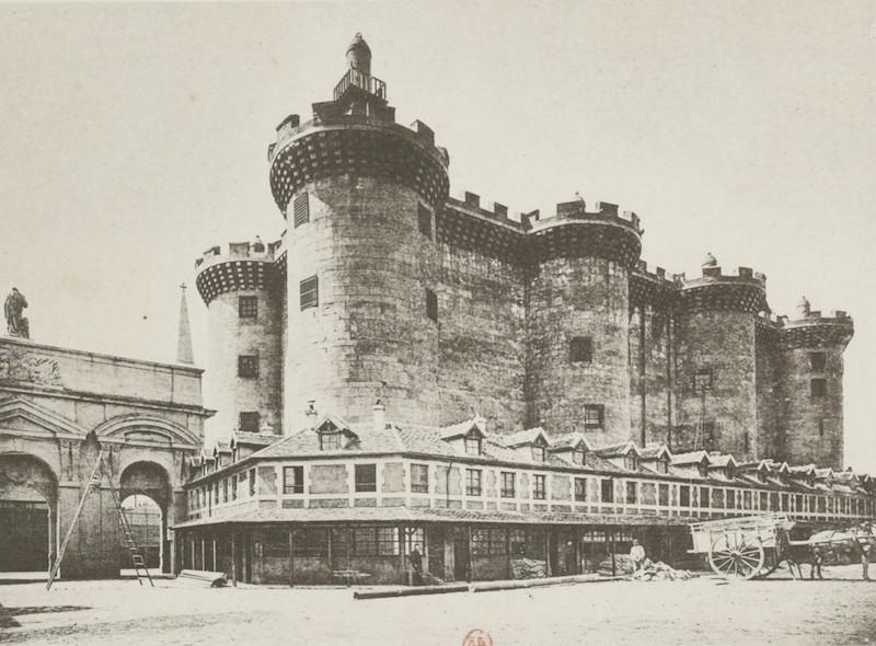 Bastille - Reconstitutions de la tour du Temple et de la Bastille pour l'Exposition universelle de 1889 Recuei24
