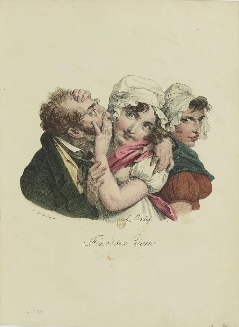 Louis-Léopold Boilly : peintre de la société parisienne de Louis XVI à Louis-Philippe Recuei48