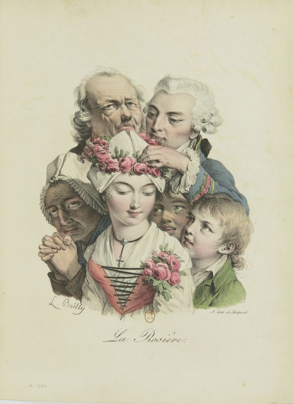 Louis-Léopold Boilly : peintre de la société parisienne de Louis XVI à Louis-Philippe Recuei50