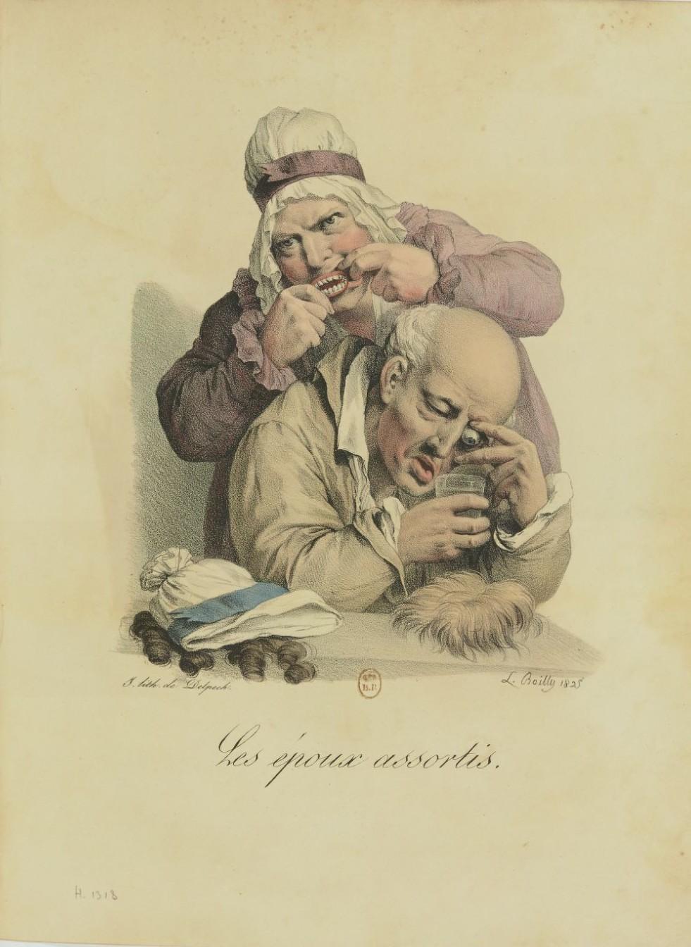Louis-Léopold Boilly : peintre de la société parisienne de Louis XVI à Louis-Philippe Recuei54