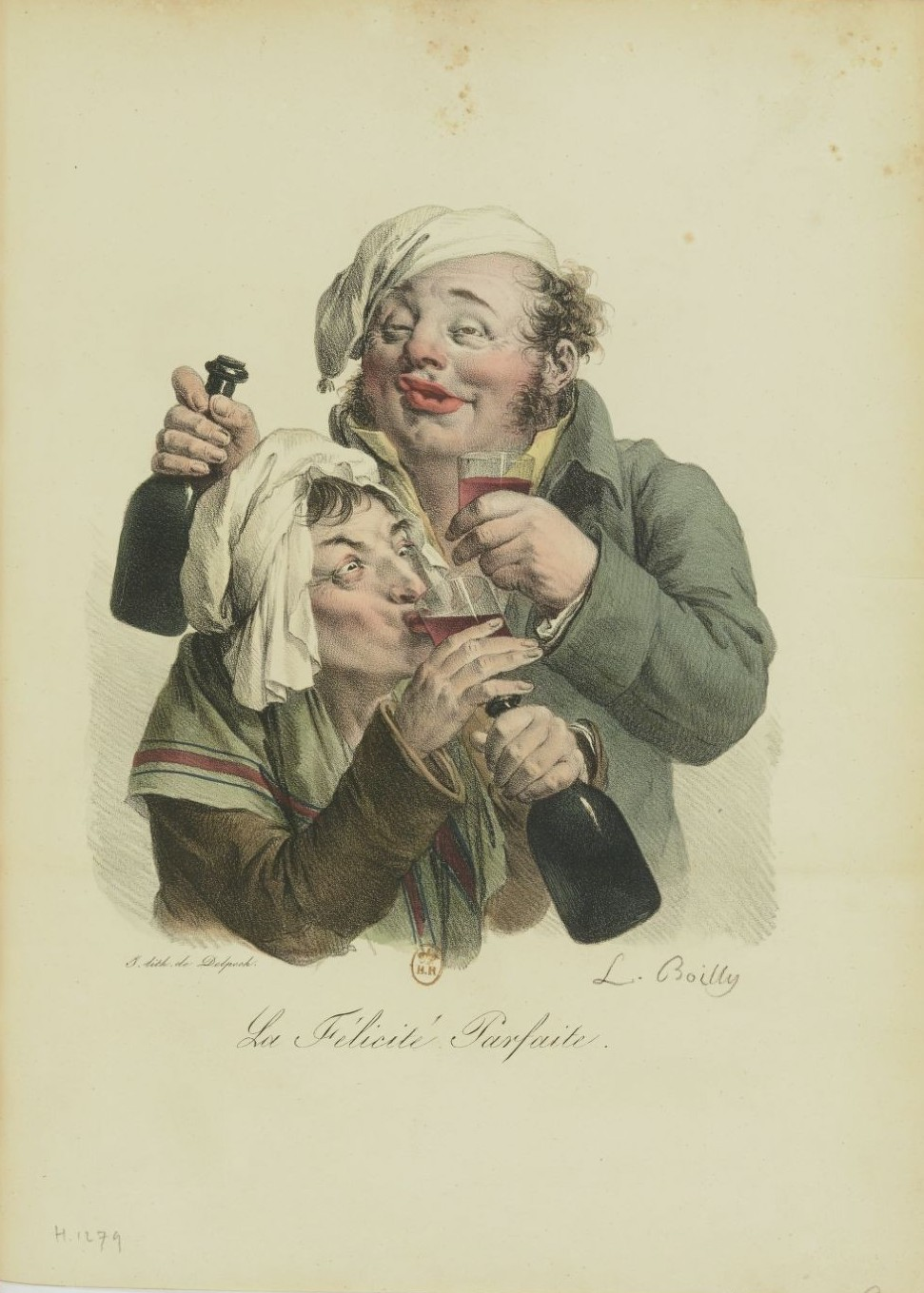Louis-Léopold Boilly : peintre de la société parisienne de Louis XVI à Louis-Philippe Recuei59