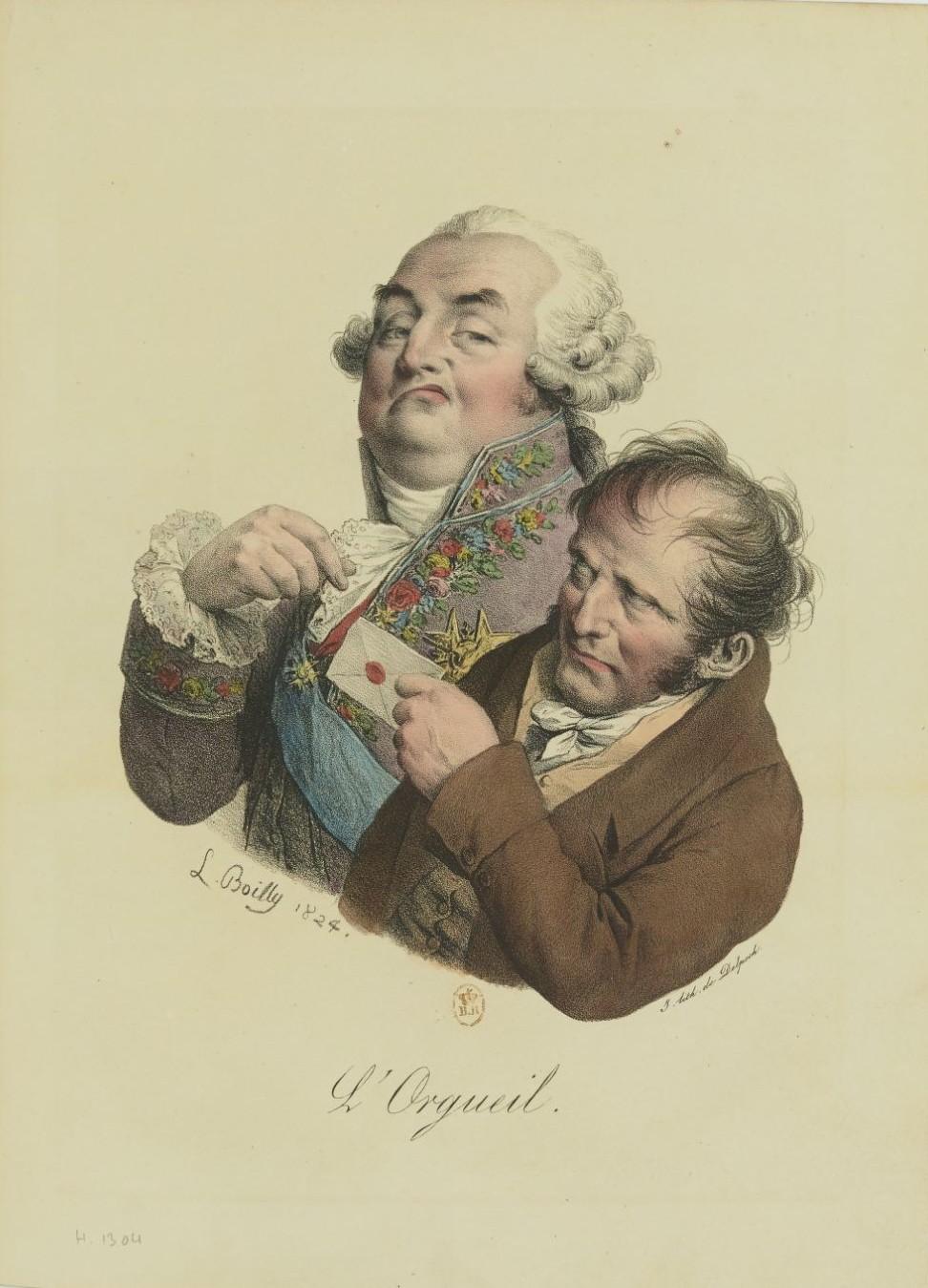 Louis-Léopold Boilly : peintre de la société parisienne de Louis XVI à Louis-Philippe Recuei63