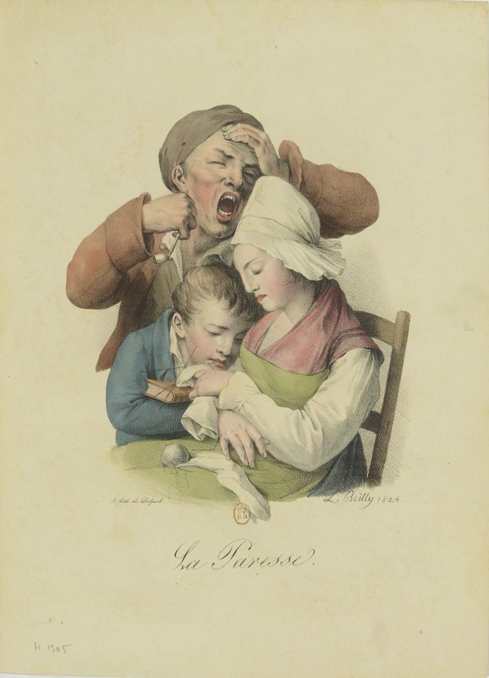 Louis-Léopold Boilly : peintre de la société parisienne de Louis XVI à Louis-Philippe Recuei66